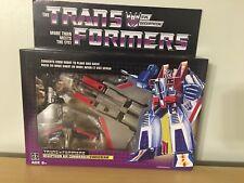 Transformers G1 Starscream Reissue 2018 Walmart Exclusive New MIB Figure Sealed