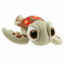 """Finding Nemo 7 1/2"""" SQUIRT TURTLE Plush Bean Bag Toy Doll Disney Store 2016 NEW"""