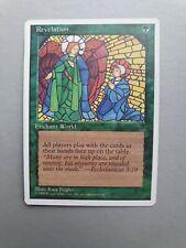 Revelation, MTG Chronicles (1995) Rare Green Enchant World NM+