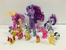 My Little Pony Lot of 17 Ponies Including Zecora Dash Glitter Fluttershy Pinkie