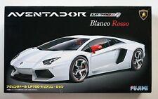 FUJIMI 1/24 Lamborghini  Aventador LP-700-4 Bianco Rosso RS-6 scale model kit