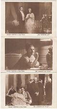 3 x Foto AK SCHAUSPIELER um 1916 HENNY PORTEN     ( 1037