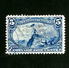 US Stamps # 288 XF/Superb Used