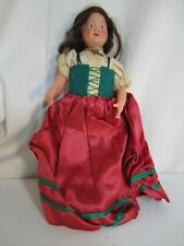 SMALL CELLULOID DOLL FROM FRANCE DRESSED AS PEASANT