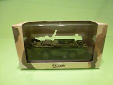 VICTORIA R034 MILITARY JEEP GPA AMPHIBIAN BRITISH ARMY 1944 GREEN - GOOD IN BOX