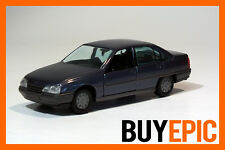 Gama 1:43 Opel Omega A Stufenheck Limousine, blau, Modellauto