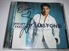 Luis Fonsi Fight the Feeling SIGNED AUTOGRAPHED AUTO CD to Eileen