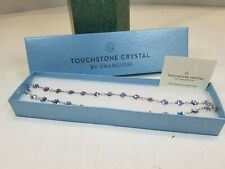 Touchstone Crystal By Swarovski Chanelle Necklace *CRYSTAL AURORE*