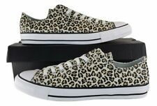 New listing Converse CTAS OX Black/Multi Leopard Sneakers 166260F Size 10 Mens / 12 Womens