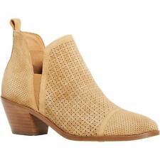 Sigerson Morrison Womens Belle Tan Ankle Booties Heels 36 Medium (B,M) BHFO 7861
