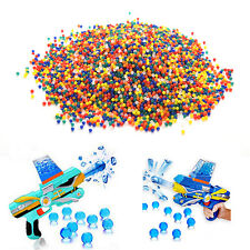 10000X Water Bullet Balls Gun Pistol Toy Crystal Soil Water Beads Mud 9mm-11mm T