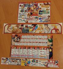 Capcom Street Fighter Zero 3 Upper Art Set for Taito Vewlix (CARD) Naomi Jamma