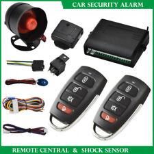 Car Vehicle Burglar Protection System Alarm Security+2 Remote Control Universal