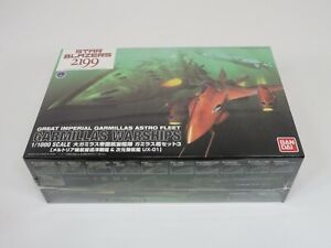 Bandai 1/1000 Yamato 2199 Garmillas Warships 3 Model Kit - USA Seller