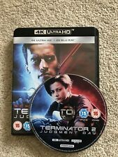 Terminator 2 Judgment Day 4K ULTRA HD UHD BLU RAY ONLY