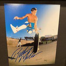 Rodney Mullen Signed 8x10 Photo Legendary Skateboarder Bones Brigade Autograph