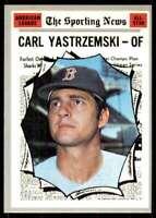 1970 Topps Set Break EX Mt+ Carl Yastrzemski Boston Red Sox #461