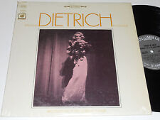 MARLENE DIETRICH NM- In London Recorded Live At the Queen's Theatre OL-6430