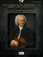 Bach Selections from the Lute Violin and Cello Suites for Easy Classic 000103245