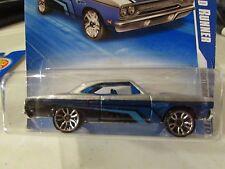 Hot Wheels '70 Plymouth Road Runner Nightburnerz Blue