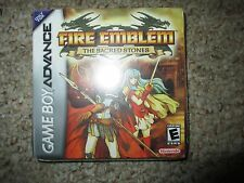 Fire Emblem: The Sacred Stones  (Game Boy Advance, 2005) GBA NEW Sealed