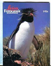 Leica Fotografie International Magazine No. 1 1992 Rini van Meurs EX 032417lej