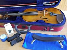 3/4 STENTOR STUDENT II VIOLIN,CASE & BOW SUPERB CONDITION & FREE DIGITAL TUNER