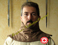 Medieval Armor Padded Gambeson Collar High Neck