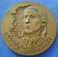 Polen - Poland medal - penning Wanda Wasilewska