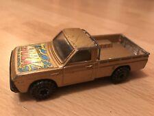 "Corgi 5"" MAZDA B1600 PICK-UP Diecast Vintage GOLD Car INCREDIBLE HULK"