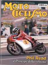 MOTOCICLISMO D'EPOCA 8/9 2012 - DUCATI SCRAMBLER 450 - GILERA 50 V6 - PHIL READ