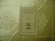 Mitglieder-Verzeichnis Verein ehemaliger Garde-Fußartilleristen in Berlin 1921