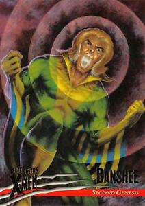 BANSHEE / X-Men Fleer Ultra Wolverine (1996) BASE Trading Card #20