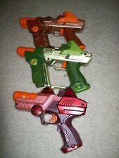 Laser LAZER TAG GUNS, Set of 3, Team Ops Tiger Electronics  WORK GREAT!