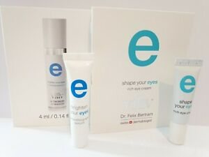 Viliv Dr Felix Bertram E smoothing eye serum & rich eye cream 4ml - 1 of each