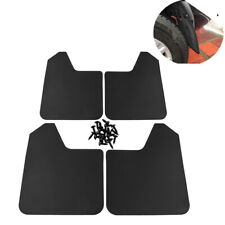 4x Universal Car Mud Flaps Splash Guards For Front or Rear (Screws Included)