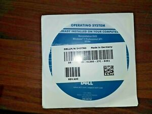 (No key/DVD Only ) DELL Win 7 PROF SP1 x86 (32 bit) System DVD /DELL 04DTND
