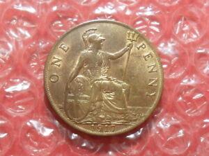 1917 George V penny.