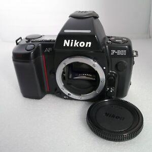 Nikon F801 F-801 N8008 35mm SLR film camera AF Body Only MINT