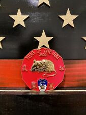 FDNY Phoenix Society 2020 Year Of The Rat Challenge Coin