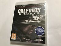 PAL SONY PLAYSTATION 3 PS3 GAME CALL OF DUTY GHOSTS COMPLETE BRAND NEW
