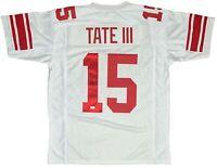 Golden Tate autographed signed jersey NFL New York Giants JSA COA