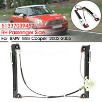 Electric Window Regulator Front Right Driver Side For BMW Mini Cooper R50 R53
