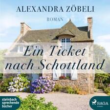 Ein Ticket nach Schottland von Alexandra Zöbeli 2 MP3 CDs Roman Hörbuch 640 Min.