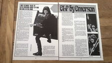 ELP by KE 2 page UK ARTICLE / clipping