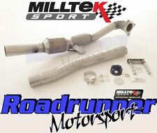 "Milltek Golf GTI MK5 Edition 30 3"" LargeBore Downpipe & Sports Cat SSXAU312"