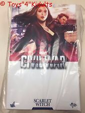 Hot Toys MMS 370 Captain America 3 Civil War Scarlet Witch Elizabeth Olsen NEW