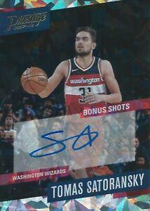 2017-2018 Panini Prestige Bonus Shots Tomas Satoransky Autograph Wizards NBA