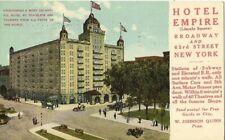 Vintage Postcard Hotel Empire New York, New York