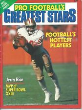 Vintage Jerry Rice Cover 1989 Pro Football's Greatest Stars + 27 San Fran Cards